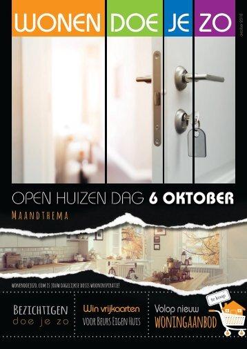WonenDoeJeZo in Noord-Oost Nederland, #oktober 2018