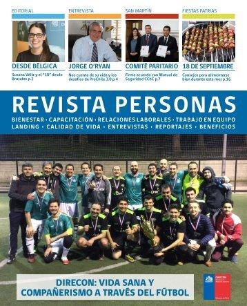 Revista Personas Agosto 2018