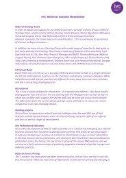IVC Referral Autumn Newsletter