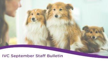 Staff Bulletin - Sept