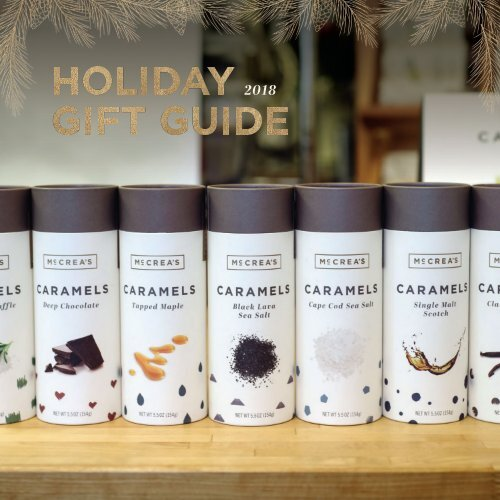 McCrea's Candies Holiday Gift Guide 2018