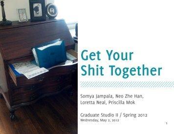 Presentation slides for 2 May 2012