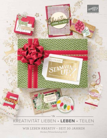 Stampin'Up! Herbst-Winter-Katalog 2018