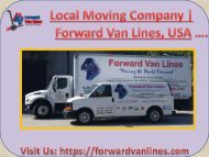 Best Local Moving Company Forward Van Lines, Fort Lauderdale, USA