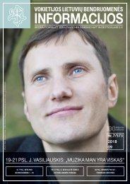"VLB ""INFORMACIJOS"", 2018 M. RUGSĖJIS, NR. 7/573"
