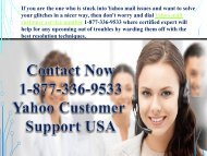Contact Now 1-877-336-9533 Yahoo Customer Support Number USA-converted