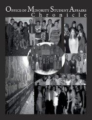OMSA Chronicle Spring 2011 - University of Rochester