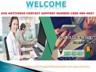 AVG Helpline Number 1800-485-4057-How You can Get Rid Of Technical Glitches?