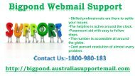 Solve Bigpond Webmail Support Problems   Dial Bigpond 1-800-980-183 For Service