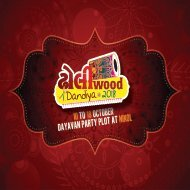 Single Page DAYAVAN GARBA BROCHURE - 300 ng 250 GSM