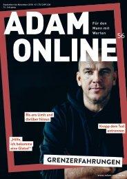 Adam online Nr. 56 Vorschau