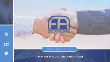 Franchise Alpha – Start, Build, Buy,Franchise