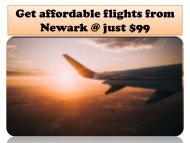 cheap flights from Newark | Flightsbird