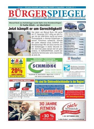 September 2018   Bürgerspiegel
