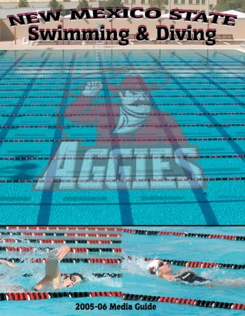 Swimming Media Guide - New Mexico State University Athletics