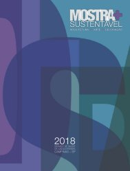 Revista Mostra+ Sustentável 2018