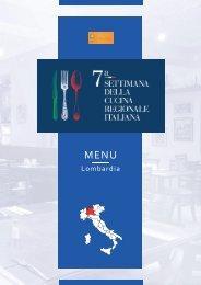 7ª Settimana della Cucina Regionale Italiana - Lombardia