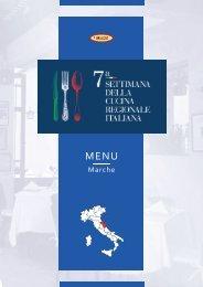 7ª Settimana della Cucina Regionale Italiana - Marche