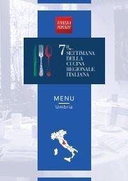 7ª Settimana della Cucina Regionale Italiana - Umbria