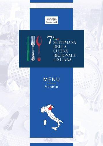 7ª Settimana della Cucina Regionale Italiana - Veneto
