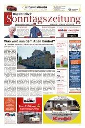 2018-09-09 Bayreuther Sonntagszeitung