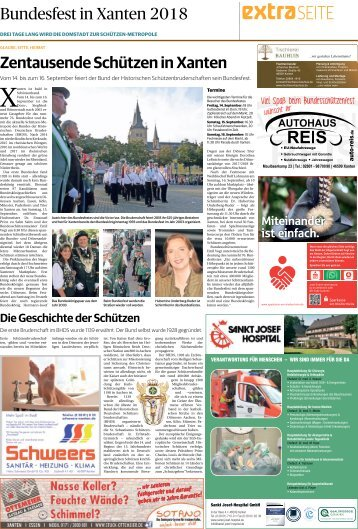 Bundesfest in Xanten  -08.09.2018-