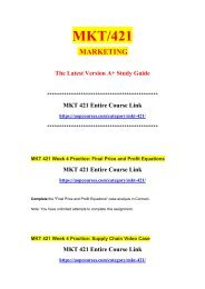 MKT 421 Week 5 Practice Google An Integrated Marketing Communications Perspective