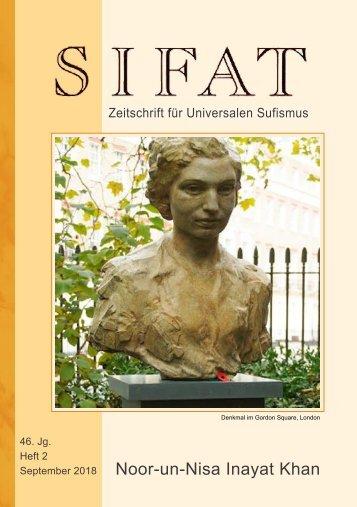 SIFAT 2 / 2018 - Sonderheft: Noor-un-Nisa Inayat Khan