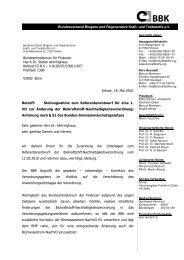Brief BMF Stellungnahme Nach-VO - Bundesverband Biogene und ...