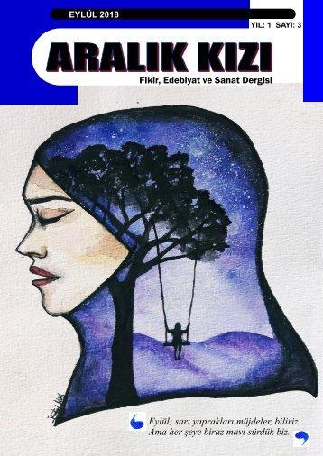 ARALIK KIZI Fikir, Edebiyat ve Sanat Dergisi 3. Sayı