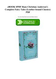 eBOOK $PDF Hans Christian Andersen's Complete Fairy Tales (Leather-bound Classics) PDF