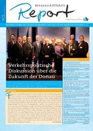 Report - Bundesverband der Deutschen Binnenschiffahrt