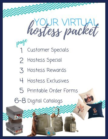 Sept Virtual Hostess Packet