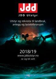 JDD Utstyr Hovedkatalog 2018_19