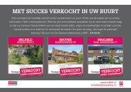 Erik Bessems Makelaardij, met succes verkocht in Belfeld, Reuver en Swalmen!