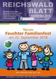 Reichswaldblatt - September 2018