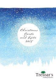 Treloar Christmas Card & Gift Catalogue