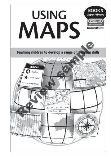 PR-6627UK Using Maps - Book 3