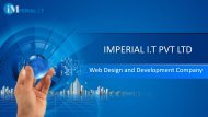 web design and development company | Imperial IT