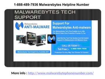 1-888-489-7936 Malwarebytes Helpline Number