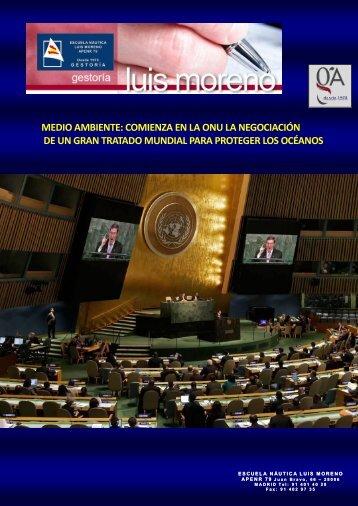 MEDIO AMBIENTE, COMIENZA EN LA ONU LA NEGOCIACIÓN DE UN GRAN TRATADO MUNDIAL PARA PROTEGER LOS OCÉANOS - Elmundo