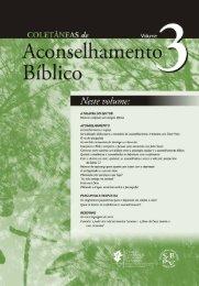 Coletânias de Aconselhamento Bíblico - Volume III