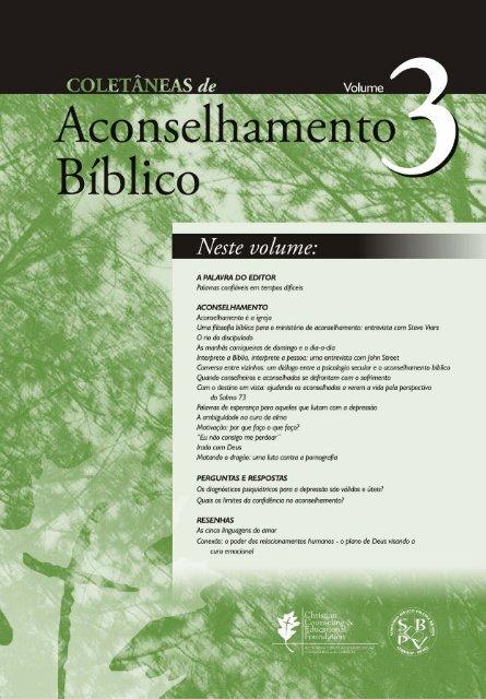 Coletânias De Aconselhamento Bíblico Volume Iii