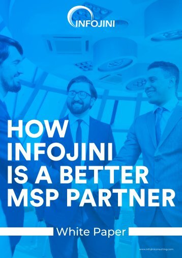 Benefits of Infojini Staffing Solutions for MSPs | Download PDF - Infojini Consulting