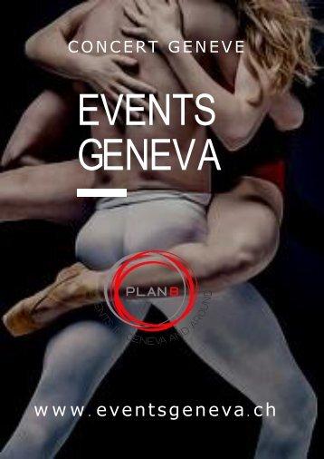 Grand Theatre Geneve & Spectacle Geneve & Theatre Du Leman