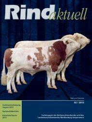 Rindaktuell 02/2012 - LKV Mecklenburg-Vorpommern eV