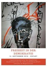 FREIHEIT in der DEMOKRATIE - Dokumentation der Impulsveranstaltung