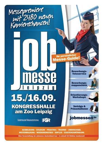 Der Messe-Guide zur 1. jobmesse leipzig