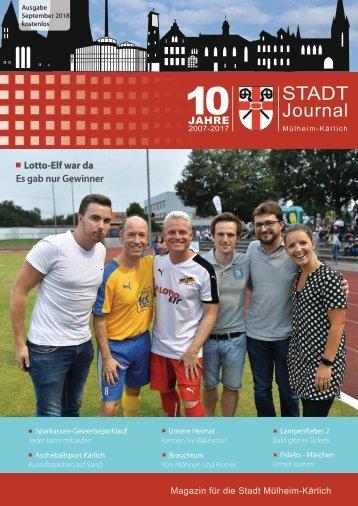 STADTJournal September 2018