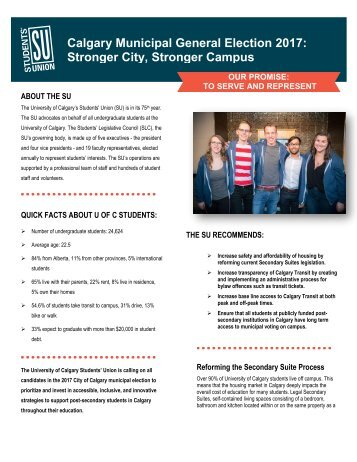 Stronger City, Stronger Campus